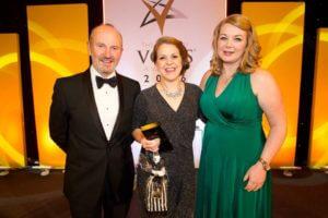 Vows award, best make-up artist