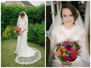 bridal hair and make-up by Sarah-Lou