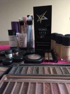 make-up collection, award-winning make-up artist
