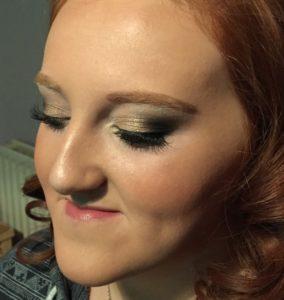 make-up, glam make-up