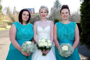 Bridal makeup, Michelle and bridesmaids, wedding makeup