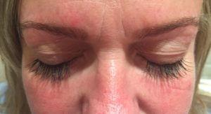 bridal lashes, semi permanent lashes
